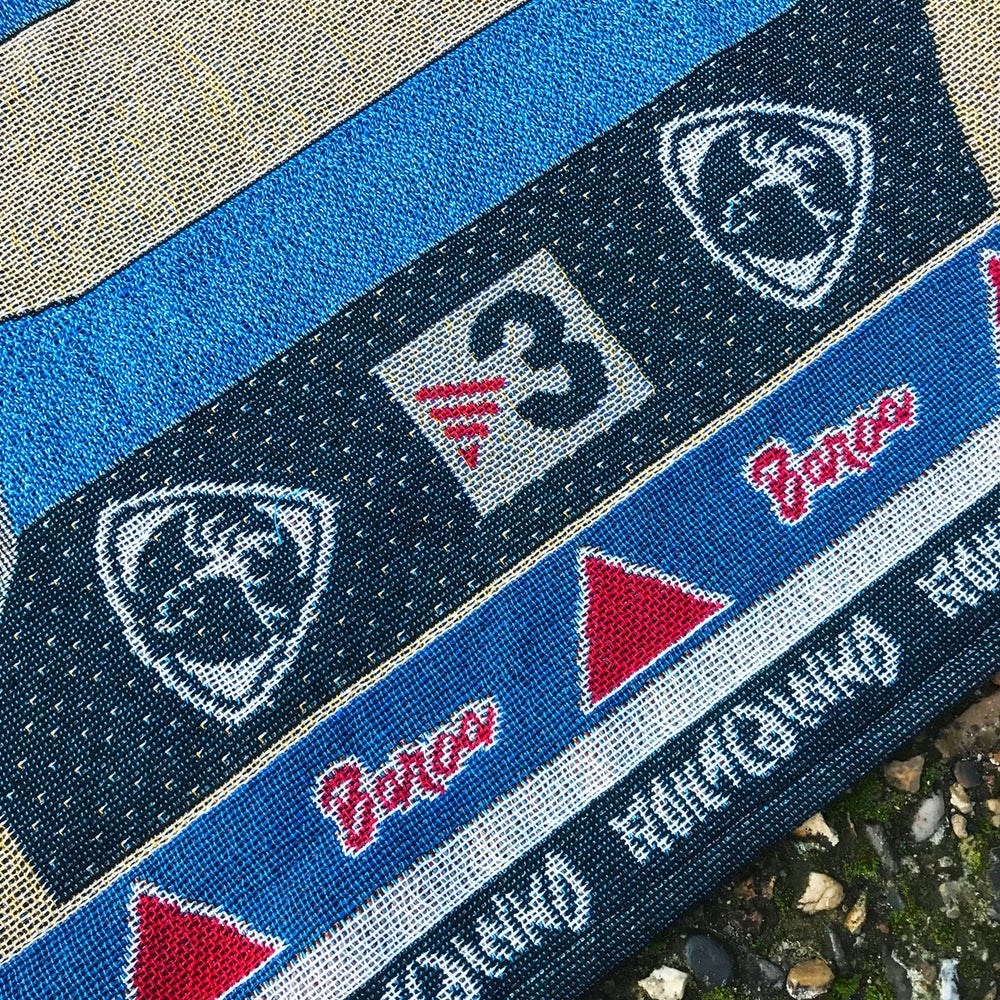 Image of Woven Dinho Barca Icon Rug (restock)