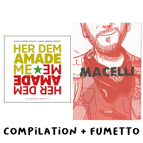 Image of BUNDLE - Compilation HER DEM AMADE ME + Fumetto MACELLI