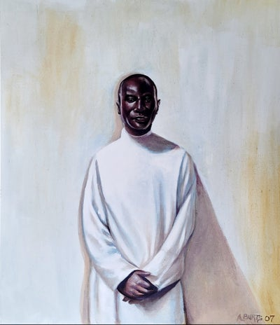 Image of Man in White