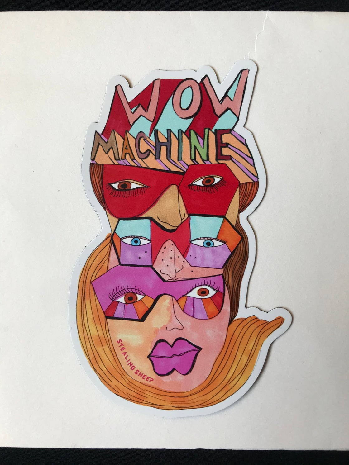 Image of Wow Machine Magnet
