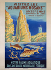 Aquariums Mosans Art Print
