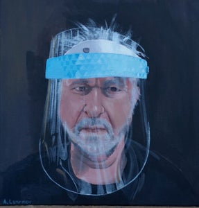 Image of Self portrait in PPE
