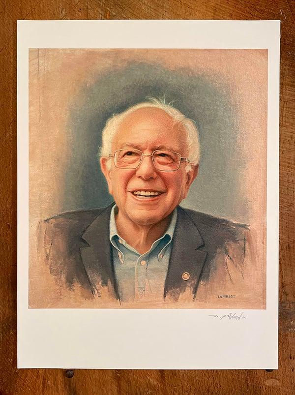 Image of Bernie Sanders Print