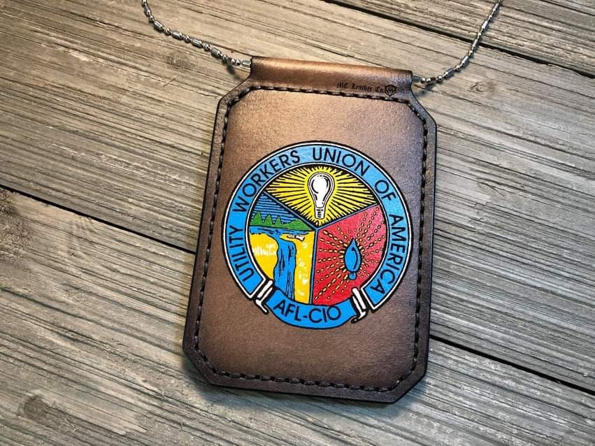 Image of Custom Badge Sleeve/Lanyard