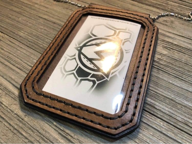 Image of Custom Badge Sleeve/Lanyard