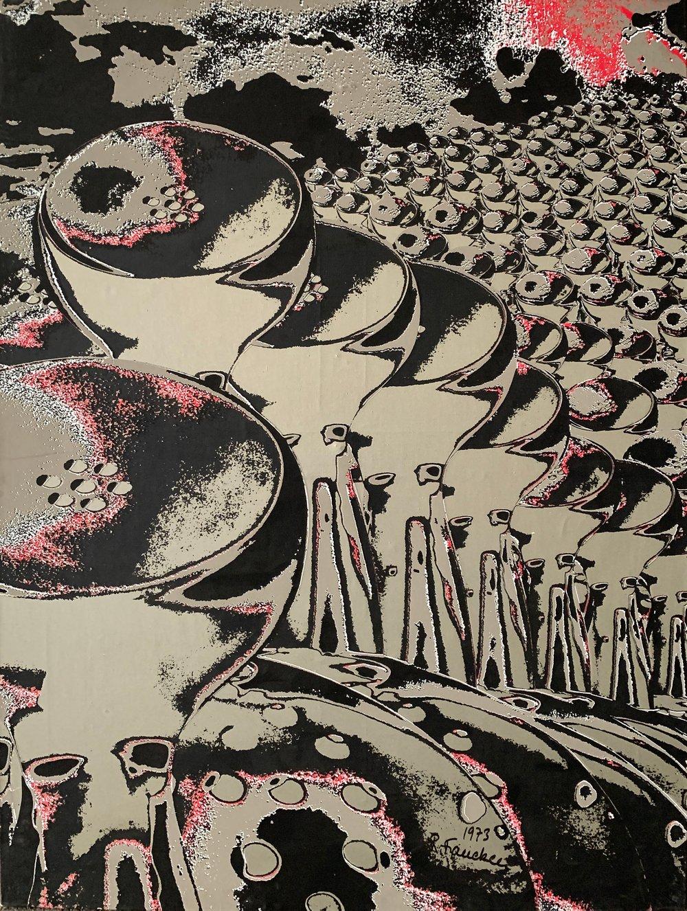 Ruth FRANCKEN - La Manif, Objekte Serie A, 1973