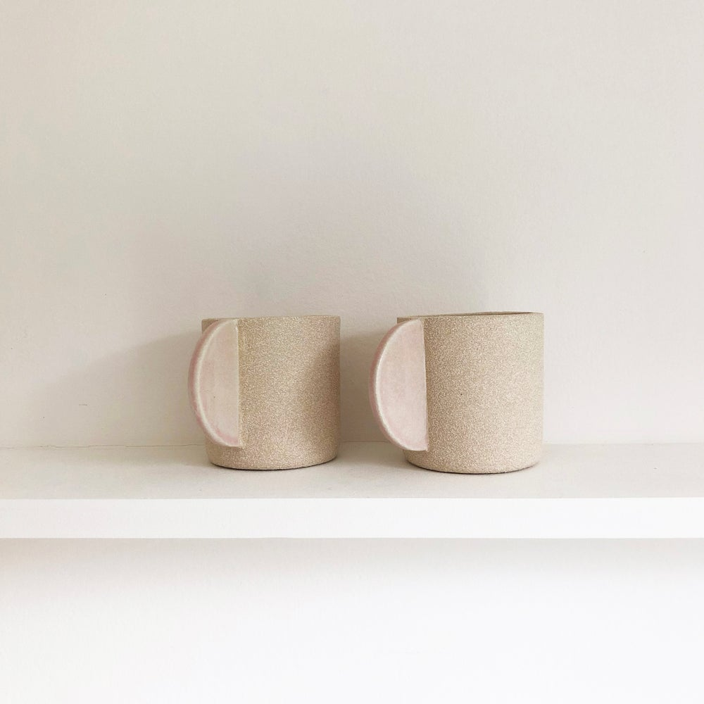 Image of Pale pink cup by Brutes ceramics