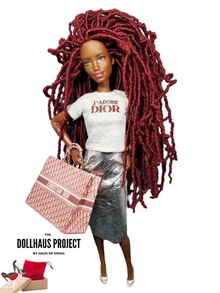 Image of DIOR Red Haute Fashion Collector Doll