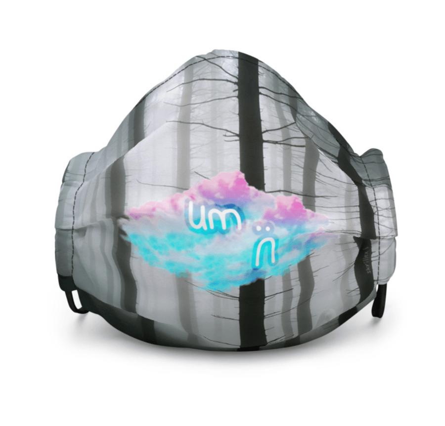 Image of skrillex 6 facemask [forest]