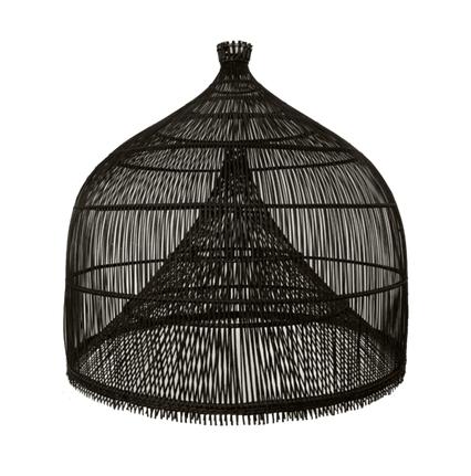 Image of FISHERMANS LAMP SHADE BLACK