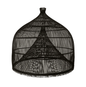 Image of FISHERMANS LAMP SHADE BLACK