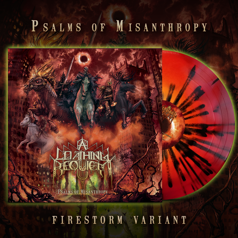 Image of A LOATHING REQUIEM - Psalms of Misanthropy | Firestorm Variant