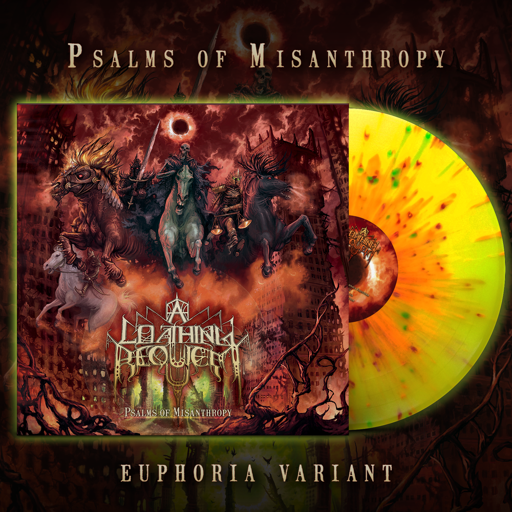 Image of A LOATHING REQUIEM - Psalms of Misanthropy | Euphoria Variant