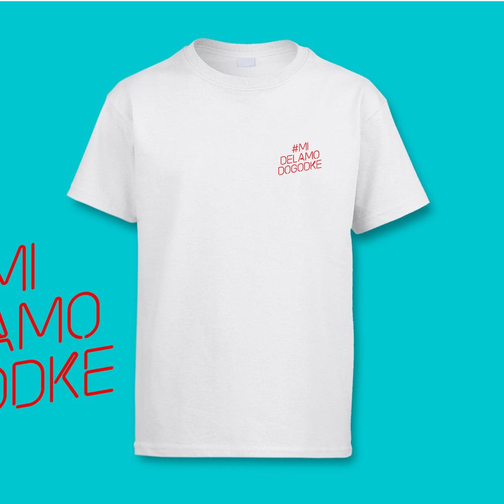#MiDelamoDogodke Logo T-Shirt