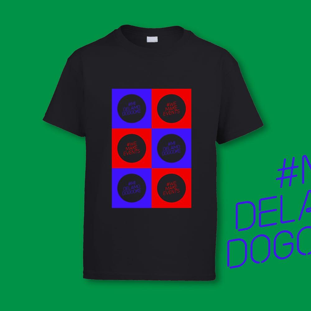 #MiDelamoDogodke Squared T-Shirt