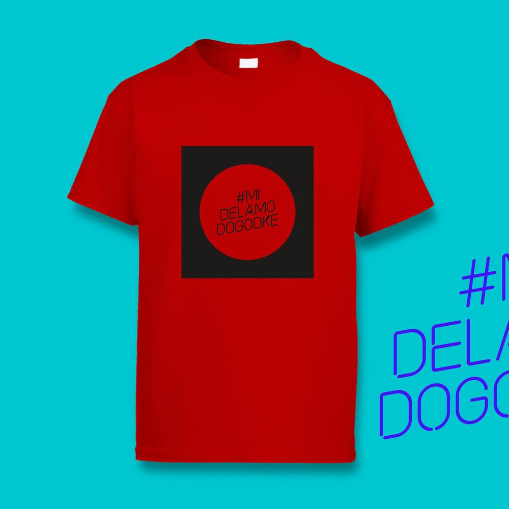 #MiDelamoDogodke Red Circle T-Shirt
