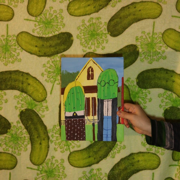 Image of Pickle Gothic Painting