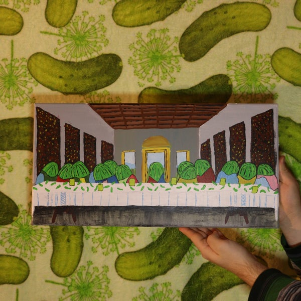 Image of The Last Pickle Painting
