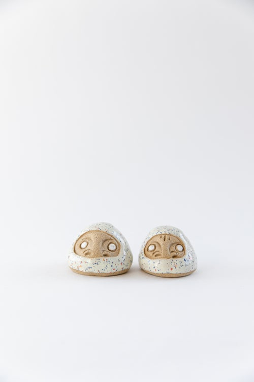 Image of Mini Daruma Wishing Dolls - Confetti