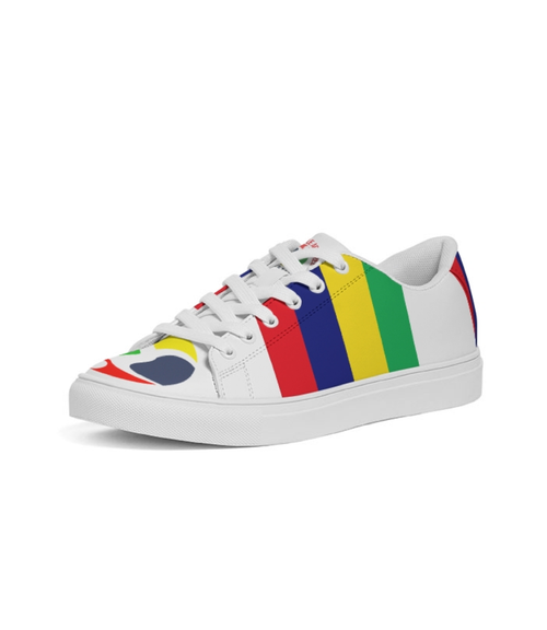 Image of LOGO COLOR LOW TOP SNEAKERS