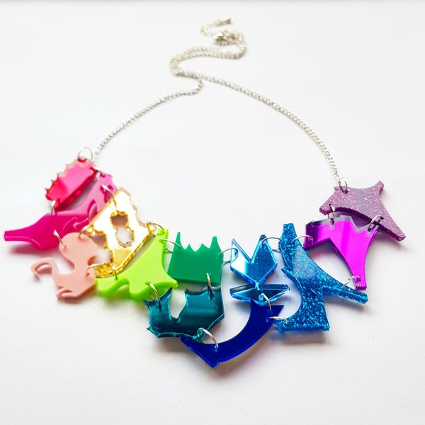 Image of Rainbow Zero Waste Necklace