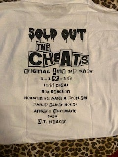 The Cheats - Original line-up reunion show white shirts
