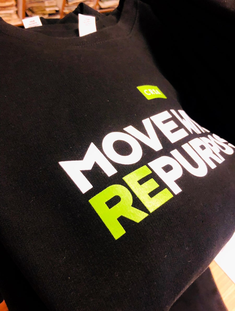 Image of CUSTOM MOVE WITH A REPURPOSE SWEATSHIRTS