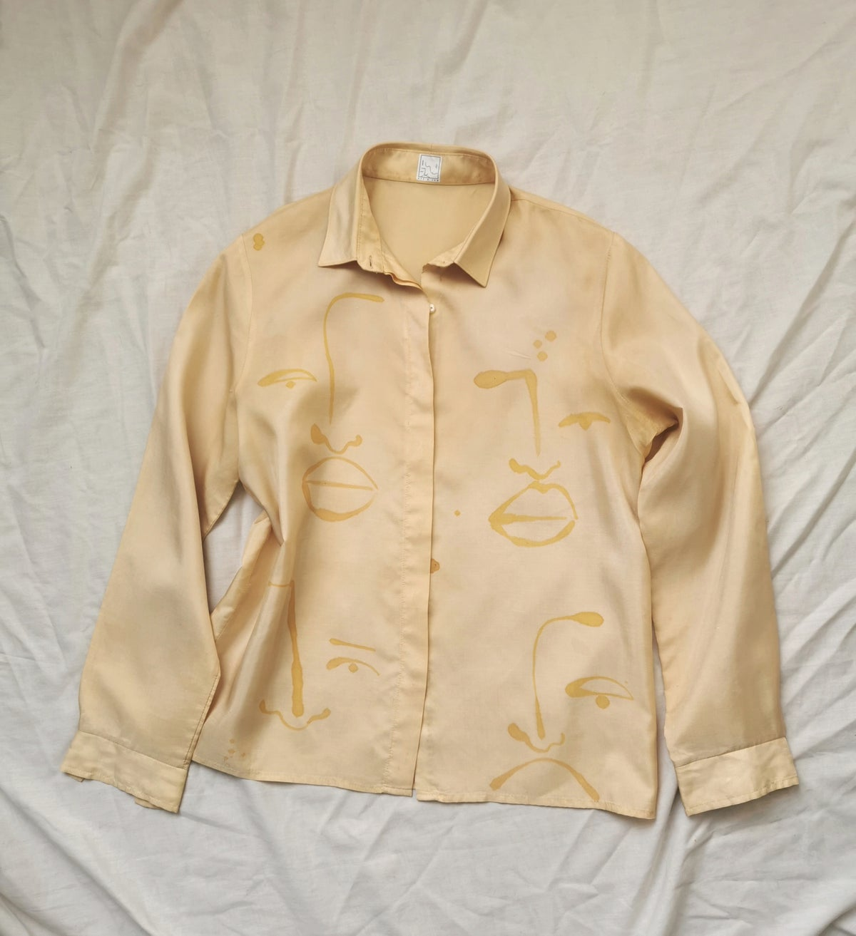 Image of go golden blouse