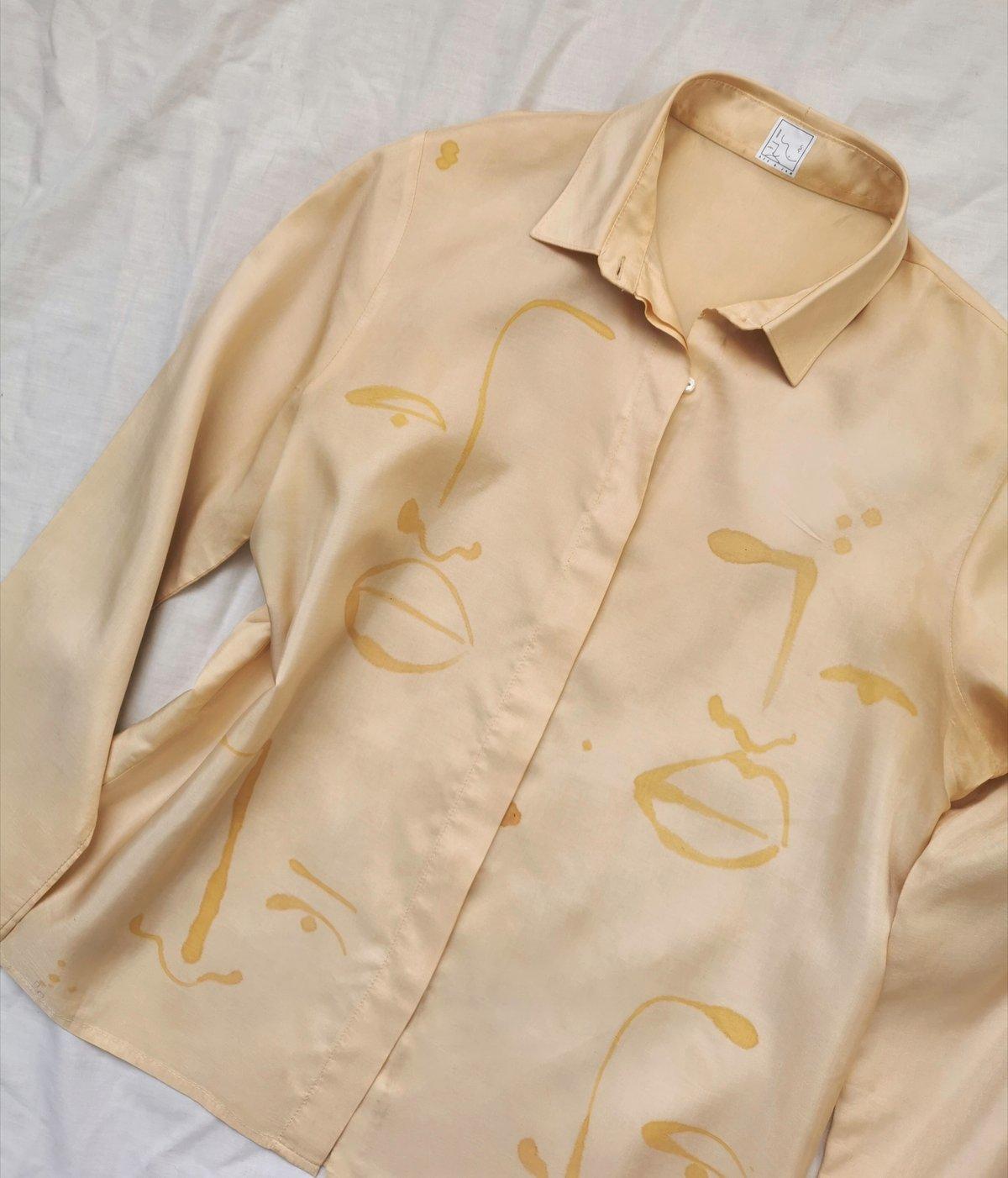 Image of go golden blouse