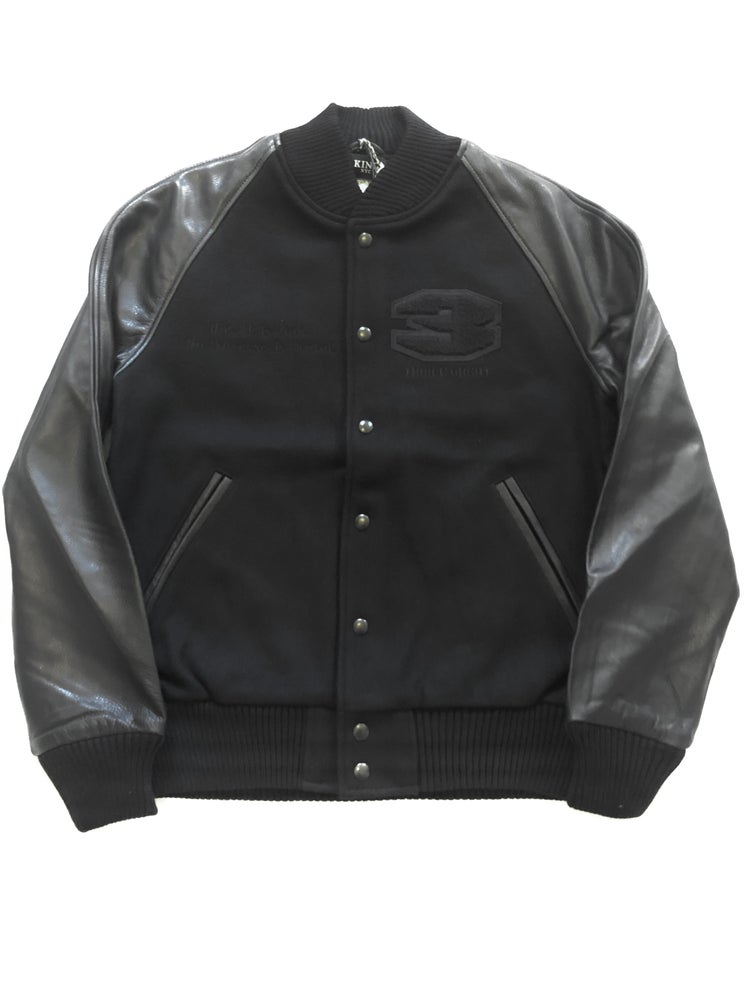 Image of KingNYC X Golden Bear Trismegistus Varsity Jacket