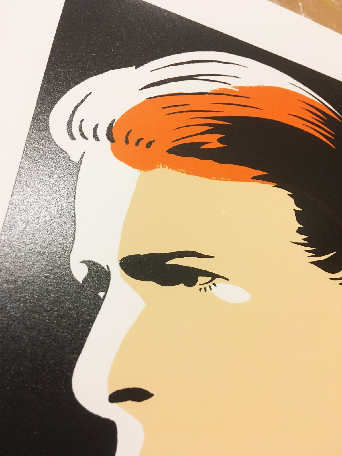 Image of Bowie misprint
