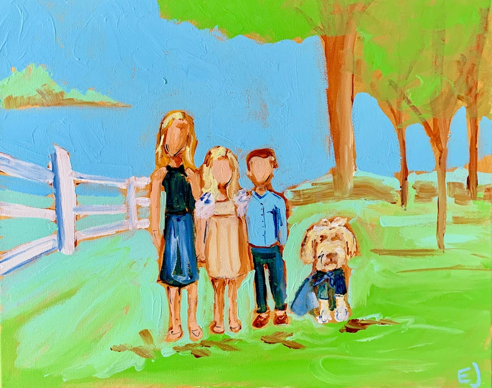 Image of Family Portrait Commission