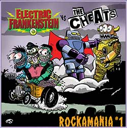 "Electric Frankenstein vs. The Cheats ""Rockamania, Vol. 1"" LP"