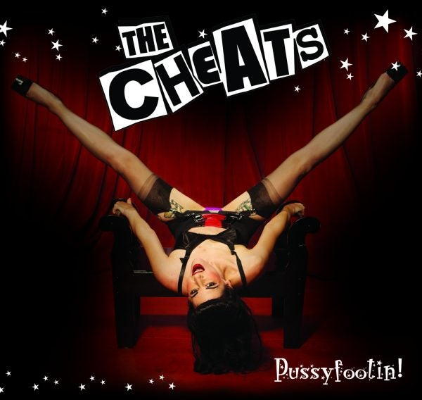 "The Cheats ""Pussyfootin"" CD"