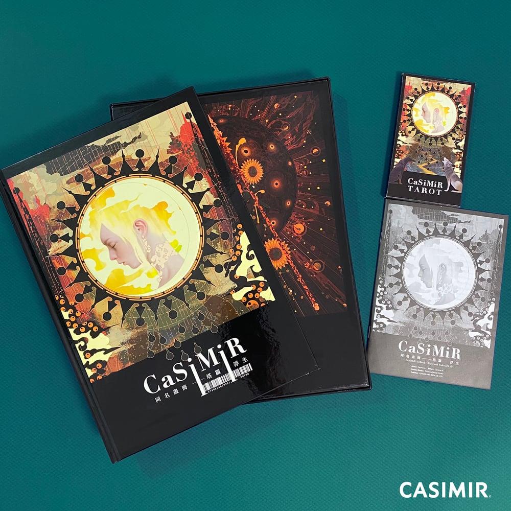CASIMIR ART 22 Tarot Cards + ArtBook + English Translation Manual + Box