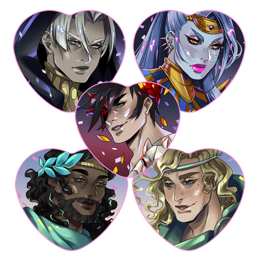 Image of hades buttons
