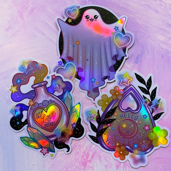 Image of Pastel Halloween Sticker Pack