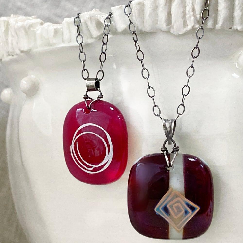 Image of Glass Drop Pendant III