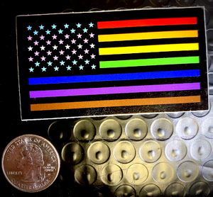 Image of Pride Flag Sticker