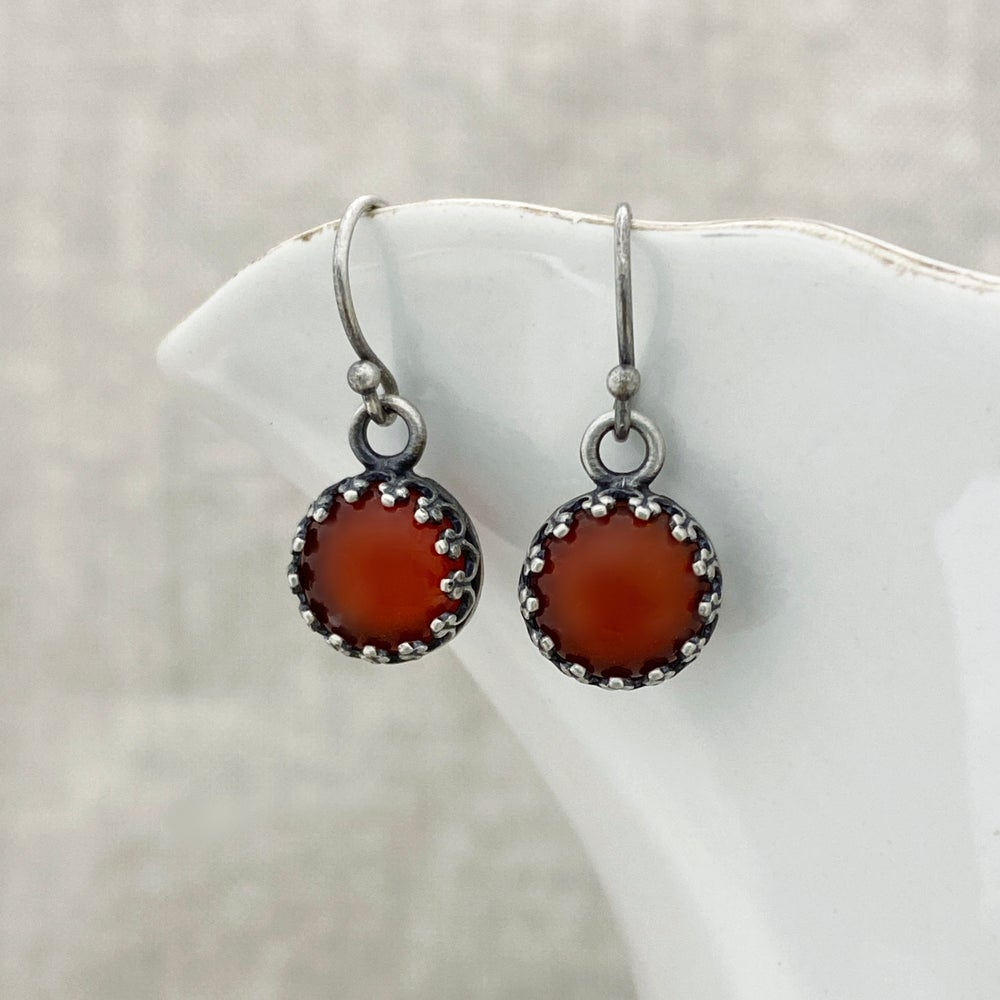 Image of Carnelian Earrings