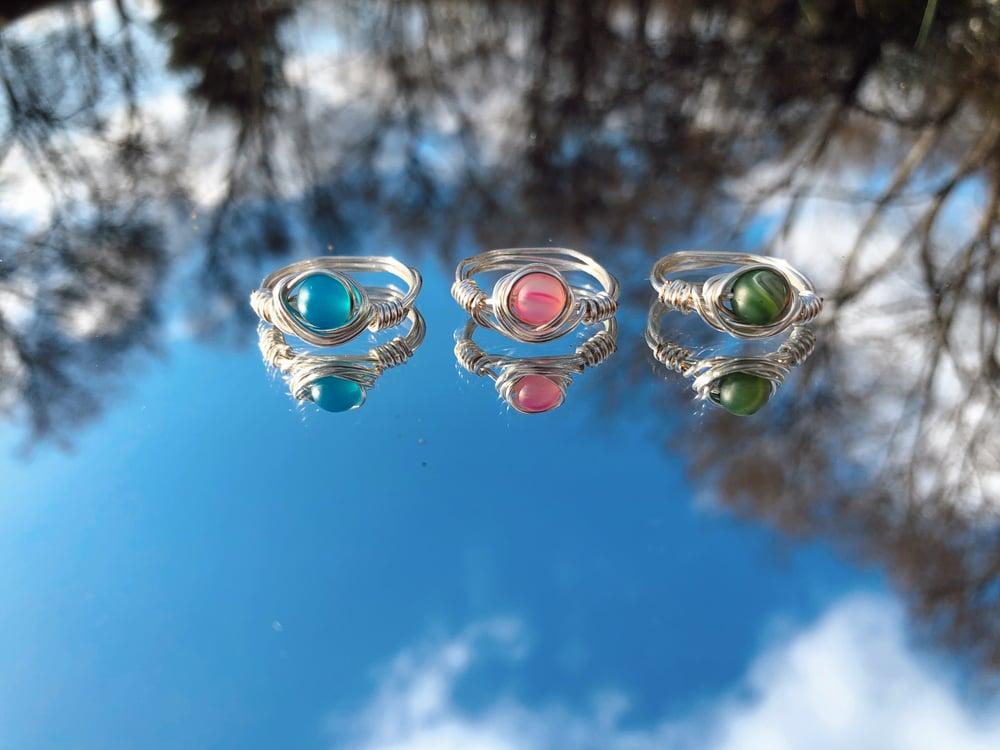 Image of Blue Stone Ring