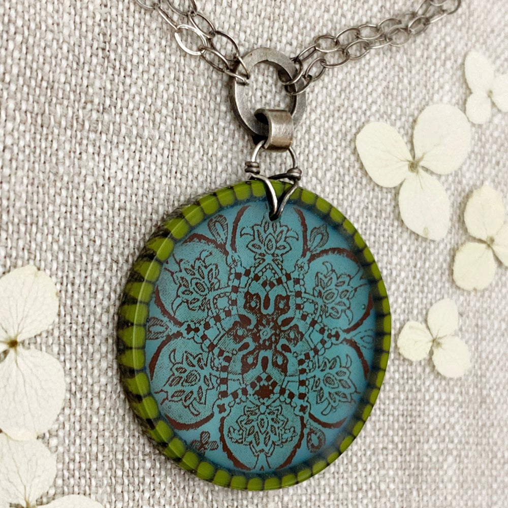 Image of Green Gold Savannah Necklace