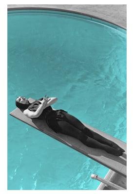 "Image of VAMPIRA® ""Pool"" 11x17 inch Poster"
