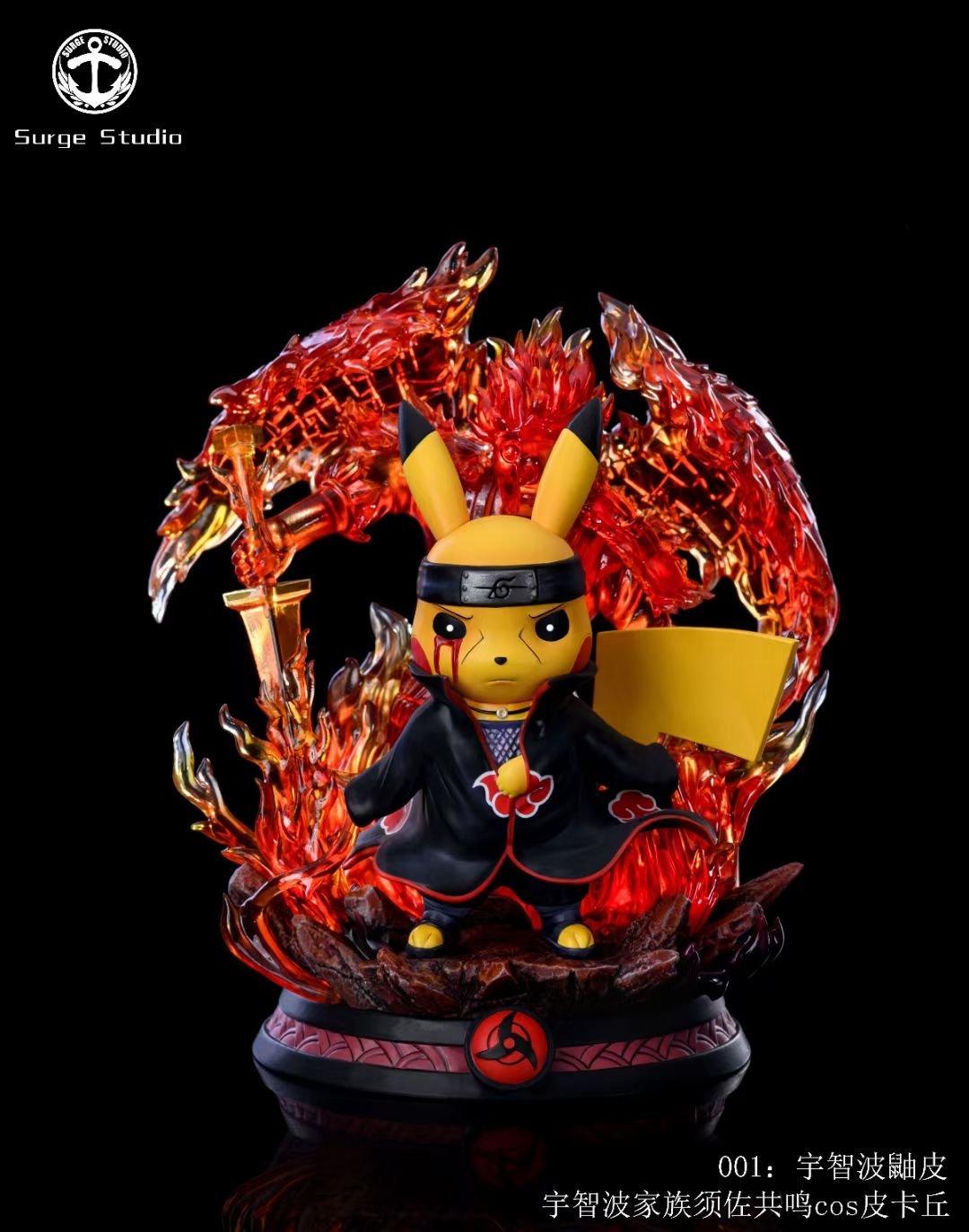 Image of [Pre-Order]Surge Studio Pikachu Cross Itachi Resin Statue