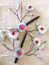 Paper Flower Candle #C