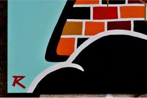 "Image of RZN art by Radesha B. ""Seasons"" gallery canvas ©️"