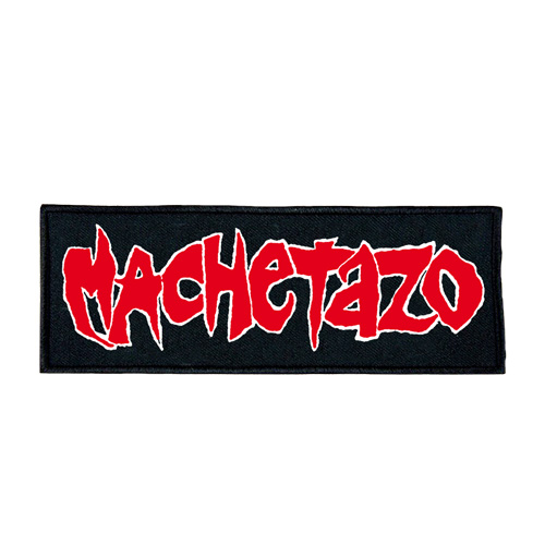 Image of MACHETAZO - Red Logo PATCH