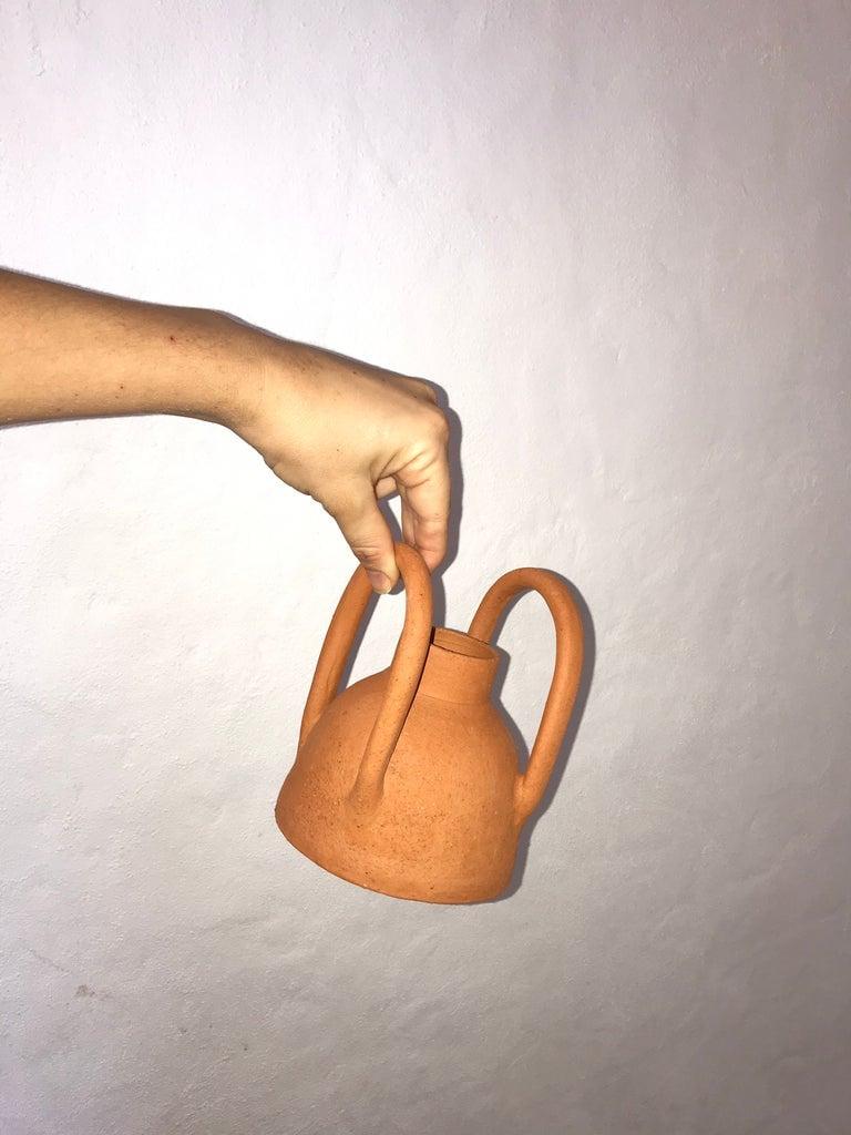 Image of Terracotta Vase 01 w. Handles