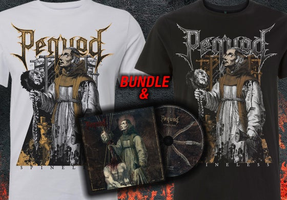Image of Spineless T-Shirt & CD Bundle