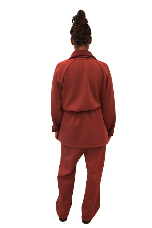 Image of FOS Robe - Wool- Rusty red